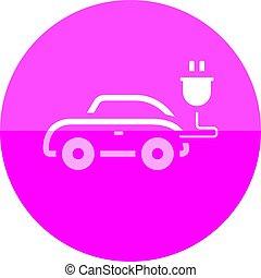 Circle icon - Car