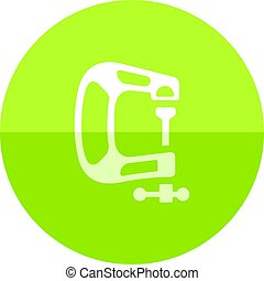 Circle icon - Clamp tool