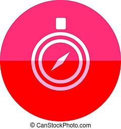 Circle icon - Compass