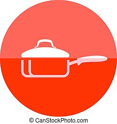Circle icon - Cooking pan