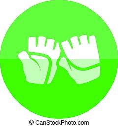 Circle icon - Gloves