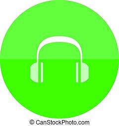 Circle icon - Headset Audio
