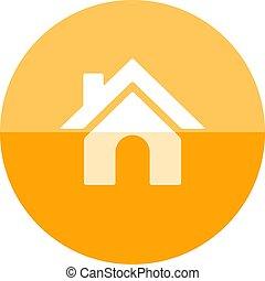 Circle icon - Home