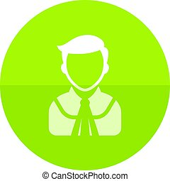 Circle icon - Judge avatar