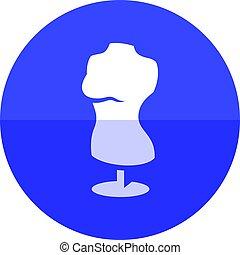 Circle icon - Mannequin