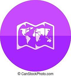 Circle icon - Map