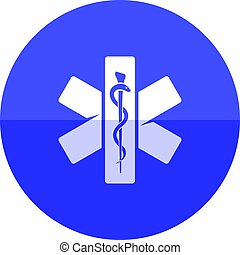 Circle icon - Medical symbol