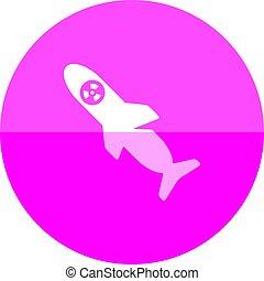 Circle icon - Missile