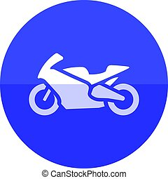 Circle icon - Motorcycle