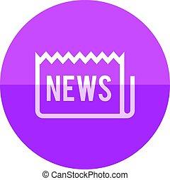 Circle icon - Newspaper