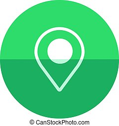 Circle icon - Pin location map