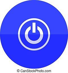 Circle icon - Power button