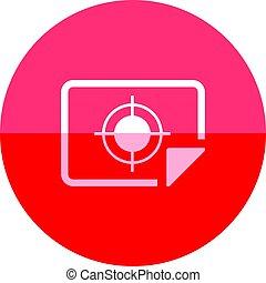 Circle icon - Printing quality control