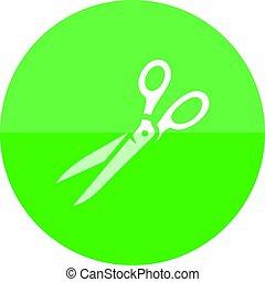 Circle icon - Scissor