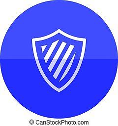 Circle icon - Shield