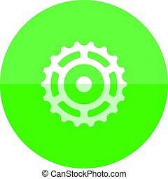 Circle icon - Sprocket