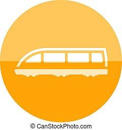 Circle icon - Tram