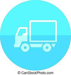 Circle icon - Truck