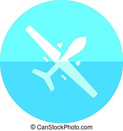 Circle icon - Unmanned aerial vehicle