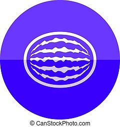 Circle icon - Water melon