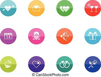 Circle Icons - Love