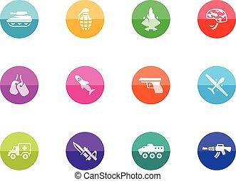 Circle Icons - Military