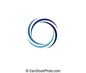 Circle logo vector templates - Circle logo vector template