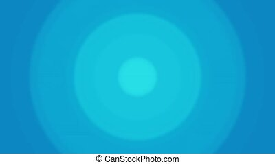 Circle loop Blue