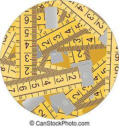 Circle metre - Creative design of cicle meter