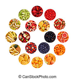 Circle of Fruits