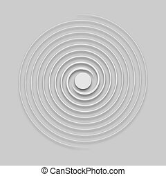 circle of lines in light tone