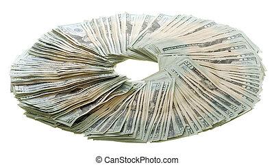 Circle of Money: Twenty Dollar Bills