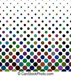 Circle pattern background - geometric vector design