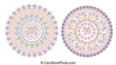 Circle pattern east design set