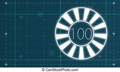 Circle percentage diagrams from 0 to 100 for web design - ...