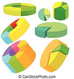 Circle Pie Chart Infographic