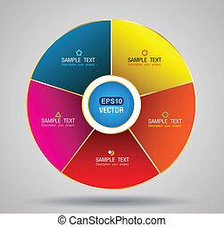 circle pie - vector business concepts / element object /...