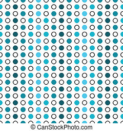 Circle seamless pattern