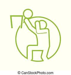 Circle Shape Basketball Sport Figure Outline Symbol Vector Illustration