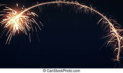 Circle Sparkler background