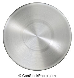 Circle stainless steel surface