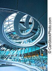 Circle stairway
