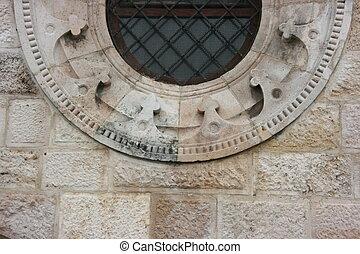 Circle Window Bottom Half