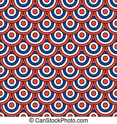 Circles background color