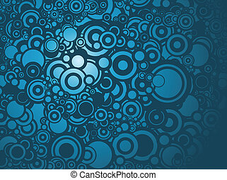 circles background - Lot of circles - background / pattern /...