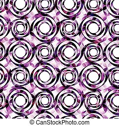 Circles background template