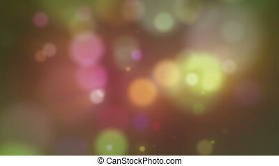circles bokeh background abstract motion