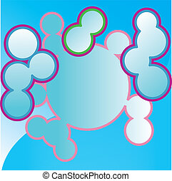 circles bubbles abstract