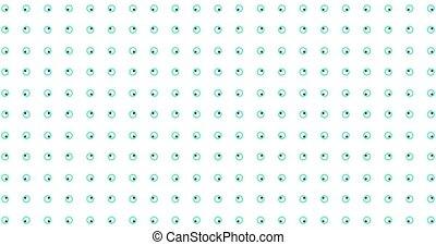 circles., geomrtic, fond, patern, 4k, animé, mouvement