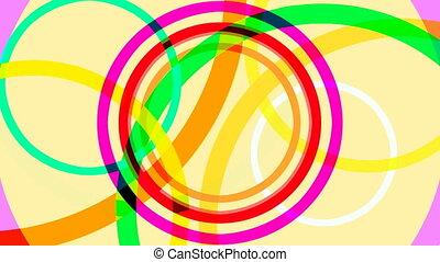 circles shapes abstract